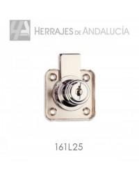 CERRADURA DE HIERRO CON PALANCA PARA CAJÓN MODELO 361L/25