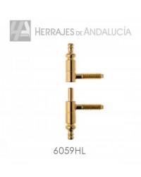 PERNIO ANUBA BARROCO EN HIERRO LATONADO MODELO 605/9