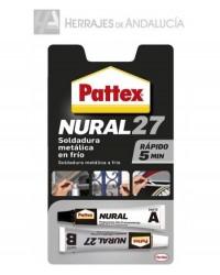 SELLADOR PATTEX NURAL 27 PARA SOLDADURA METALICA EN FRÍO