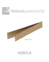 CLAVOS MINIBRAD M/25 (caja 10 millares )