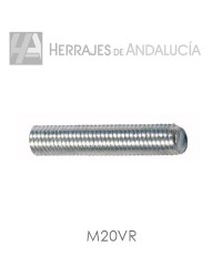 VARILLA ROSCADA M-20 ZP. 1 METRO