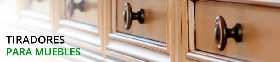 Accesorios, Pomos y Tiradores para muebles - Compra online ahora
