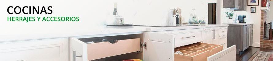 Herrajes y Accesorios para Cocinas - Gran Oferta en Amplia Gama